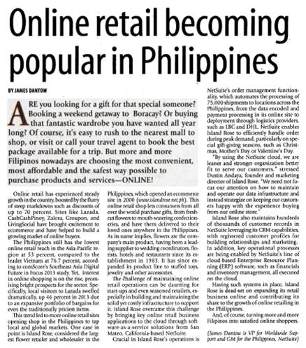 Mar3'14_The Manila Times_ Online Retail becoming popular in the Philippi...
