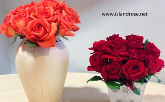 red and orange flowers_send flowers to the philippines