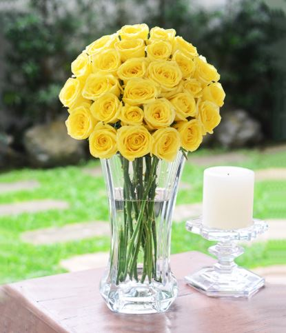 Yellow Flowers For Well Wishes: Christine Premium
